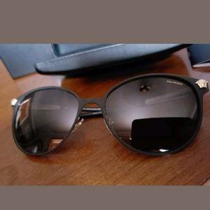 New Versace womens polarized sun glasses